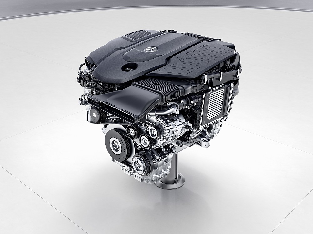 New-generation Mercedes-Benz 2.0-L 4-cylinder diesel. Proponents say diesel's potential for reducing vehicular CO2 emissions is being shortchanged because of test cheating to disguise other emissions.