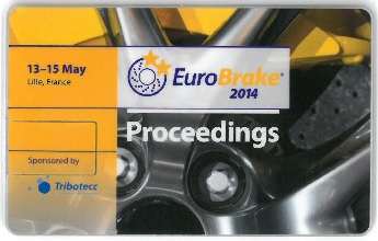 EuroBrake 2014 Conference Proceedings