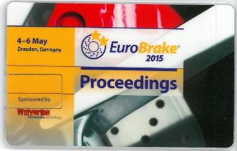 EuroBrake 2015 Conference Proceedings