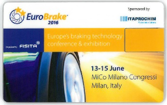 EuroBrake 2016 Conference Proceedings