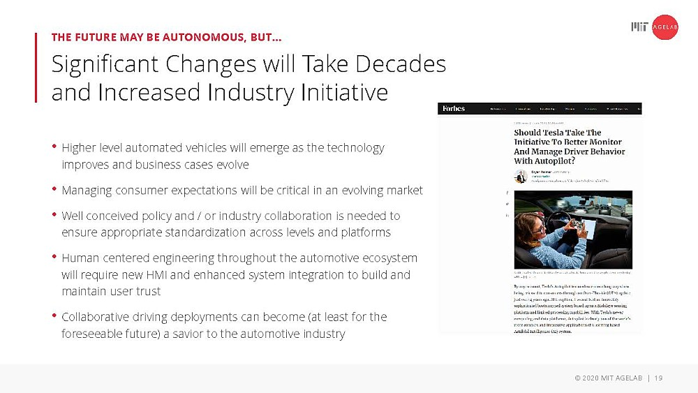 Significant changes will take decades and increased industry initiative