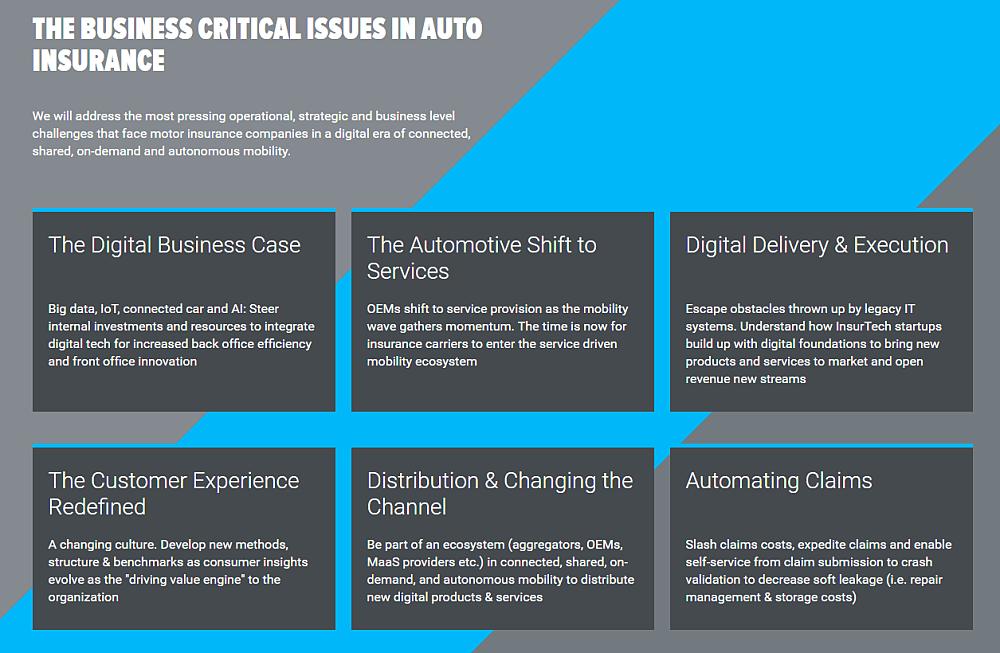 TU-Automotive Digital Insurance Europe 18–19 April 2018