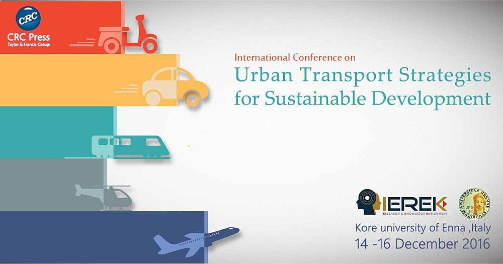 The Conference Attracts Delegates From All Over The World And Is  Well Established As The Premier Event Of Its Type. Transportation In Urban  Areas, ...