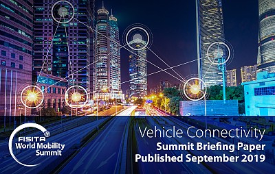 FISITA World Mobility Summit 2018 Briefing Paper: Vehicle Connectivity